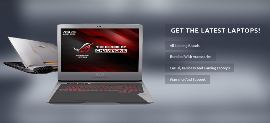 Laptop Retailer