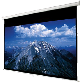 "MEKI 80"" x 80""  Lite Manual Wall Screen"